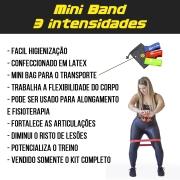 Kit Mini Bands Be Stronger - 3 peças