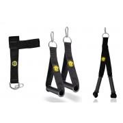 Puxador De Mão + Puxador Fita Para Tríceps + Puxador Glúteo