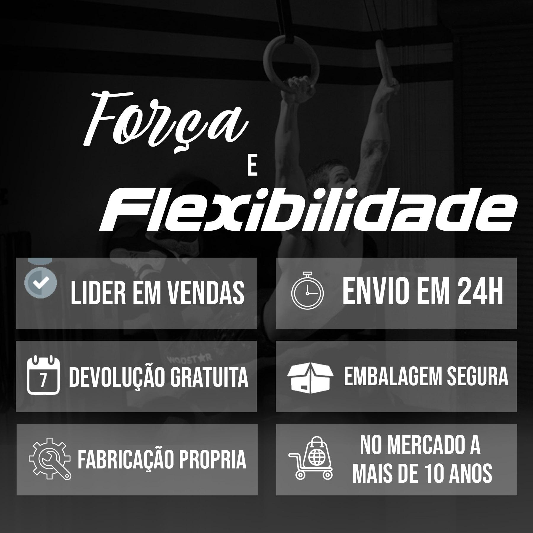 Argola de Madeira - Olímpica - Com as Fitas de 7m