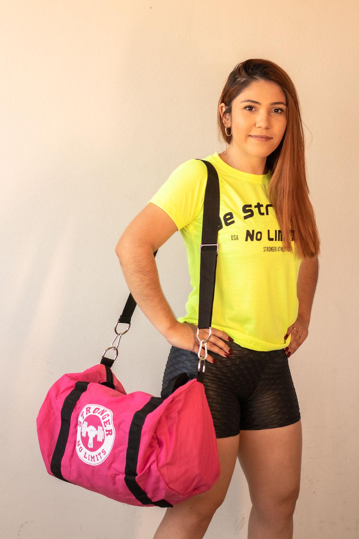 Bolsa de Treino - Rosa Be Stronger
