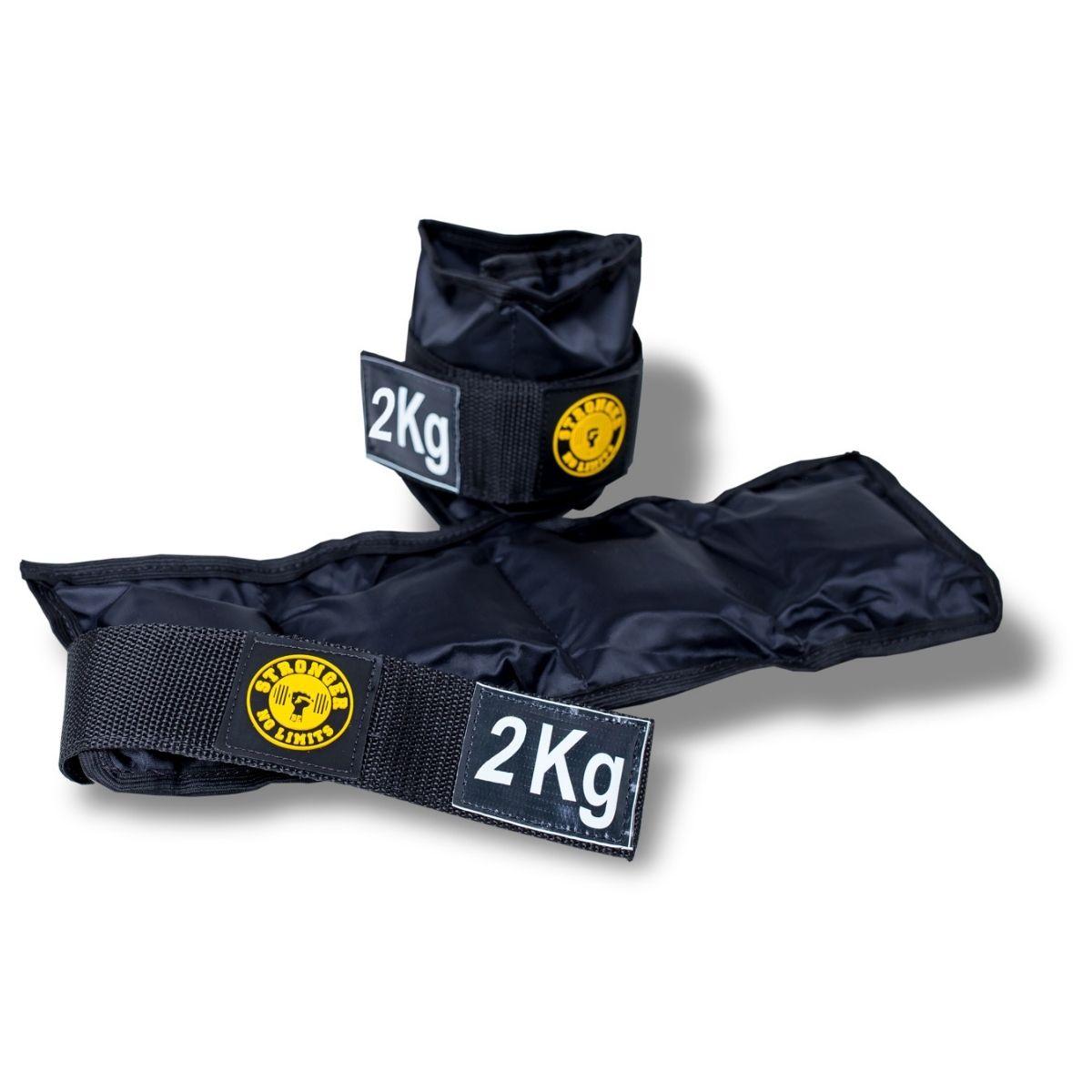 Caneleira de Peso - Kit de 1kg a 5kg