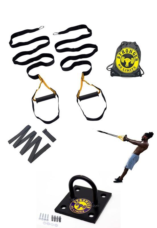 Fita de suspensão - Individual - Completa + Suporte de Teto