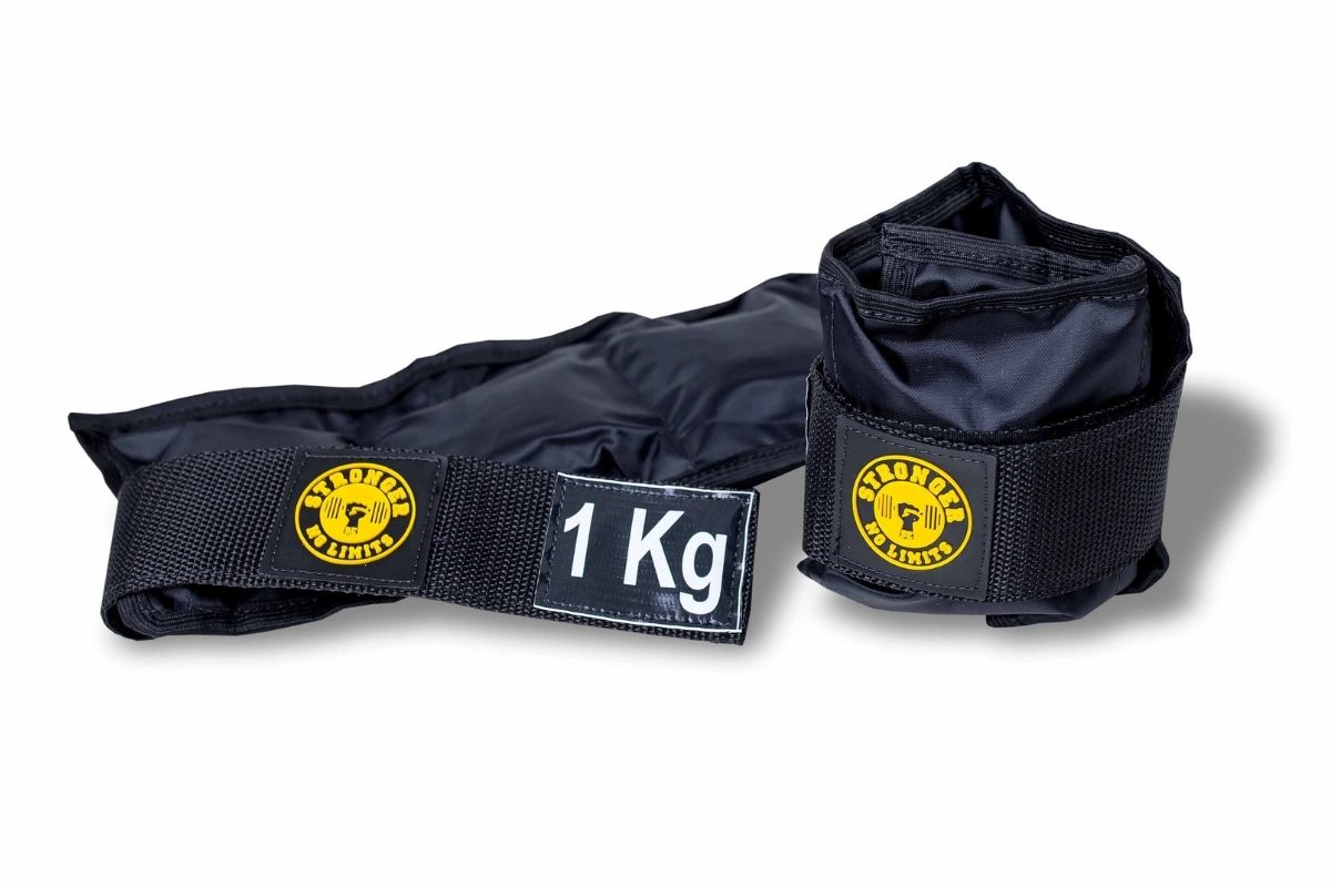 Kit Colchonete Espuma + Halter Dumbbell 3kg + Caneleira de Peso 1kg