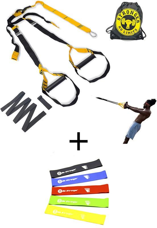 KIT - Fita de suspensao - Presilha - Completa + Kit Mini bands 5 peças