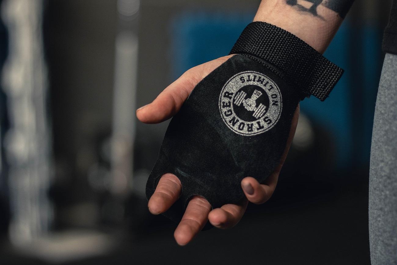 Kit Grip Flamma + Halter sextavado 2kg
