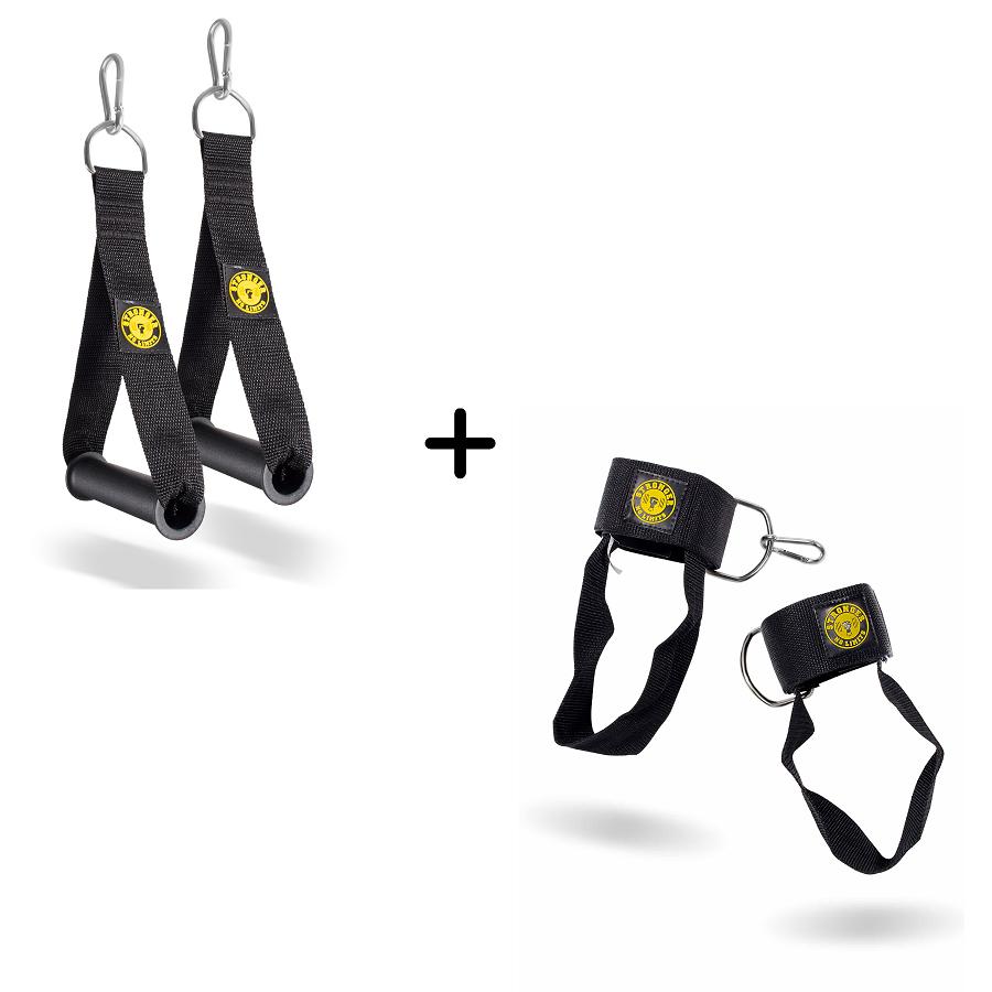Kit Puxador de Glúteo Velcro + Puxador de mão