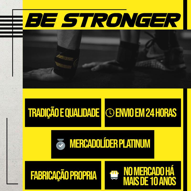 Moletom Be Stronger Cinza Claro