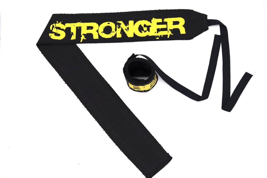 Munhequeira Be Stronger (Tecido não elástico)