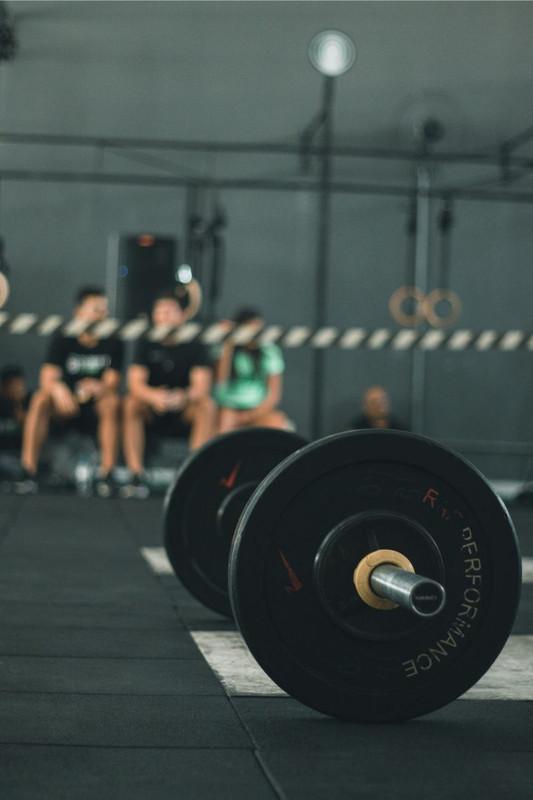 Placa de borracha para Academias e CrossTrainning 0,25M² Alta Performance Resistente Profissional Be Stronger