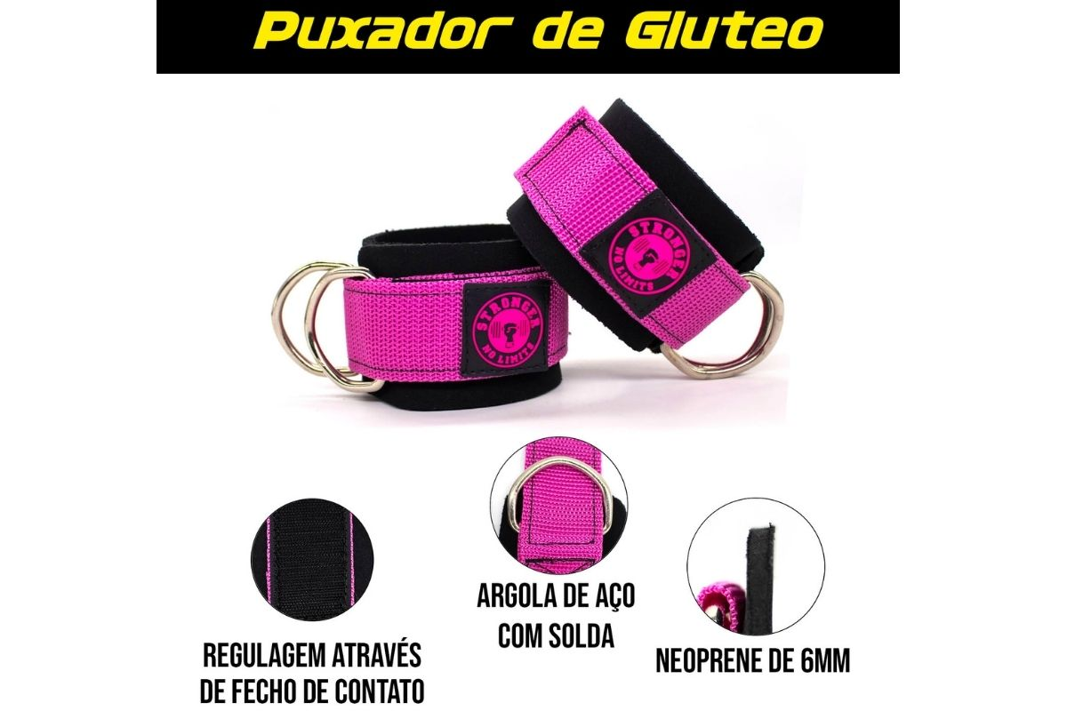 Puxador de Glúteo - Simples Rosa