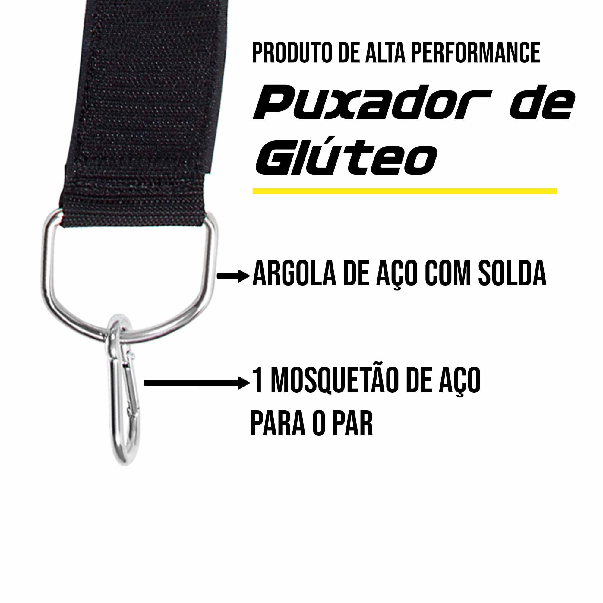 Puxador de Glúteo - Velcro
