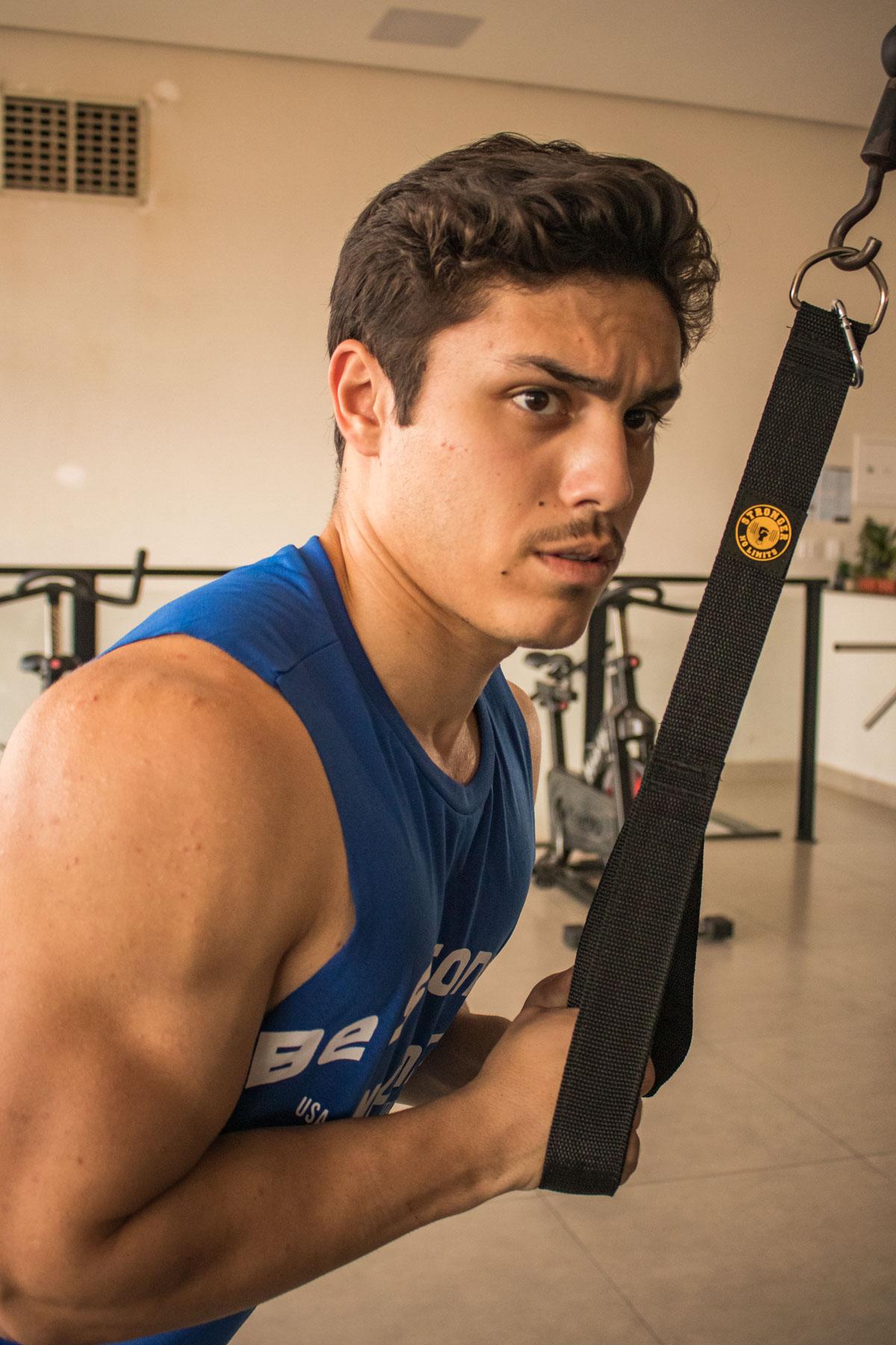 Puxador de Triceps Sem Manopla