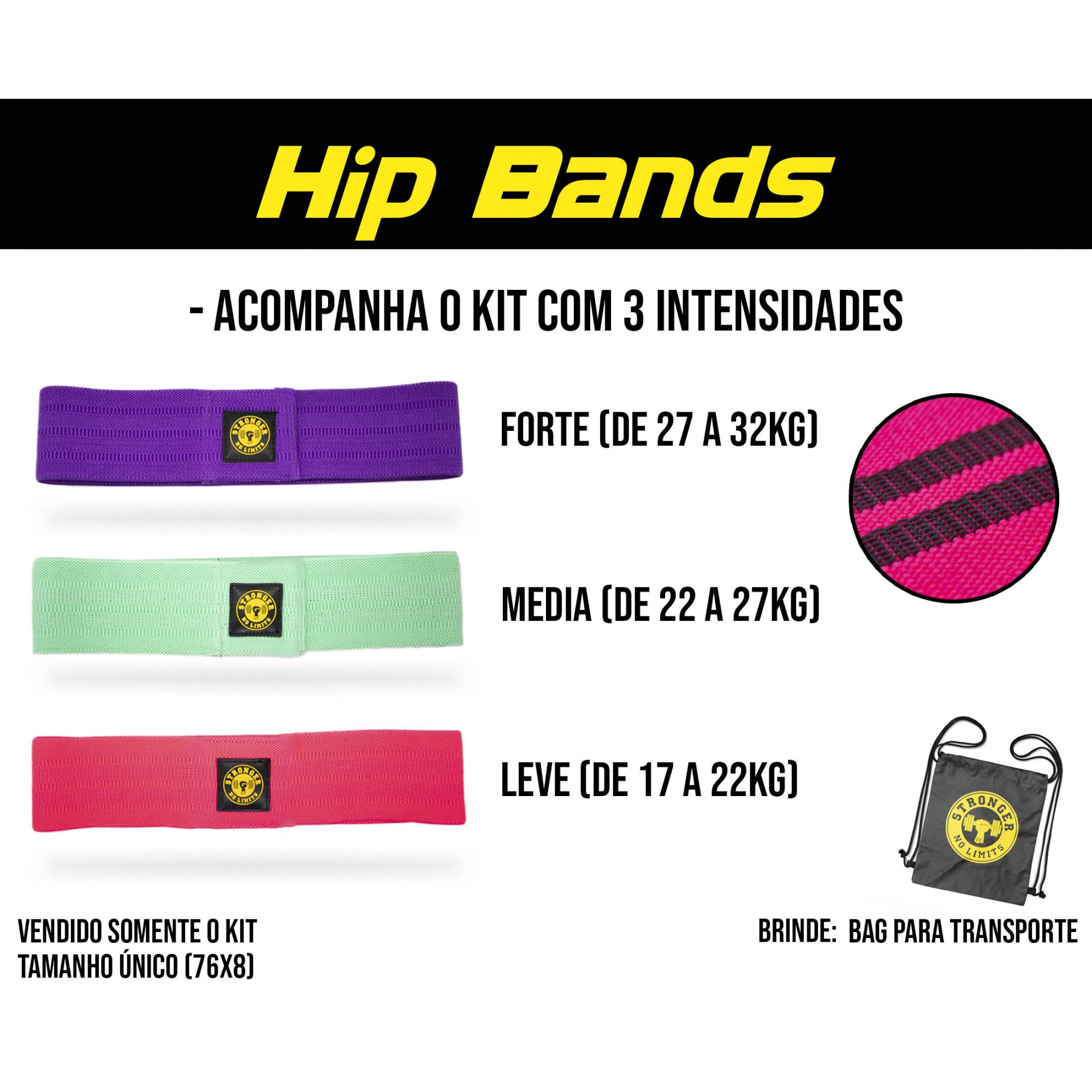 Strong Bands - Hip bands