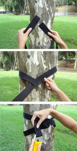Suporte árvore - Fita extensora