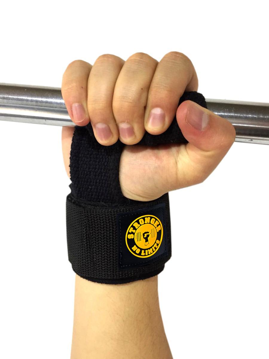 Tala Straps Monster Luva Gancho Musculação Cross Training Lpo