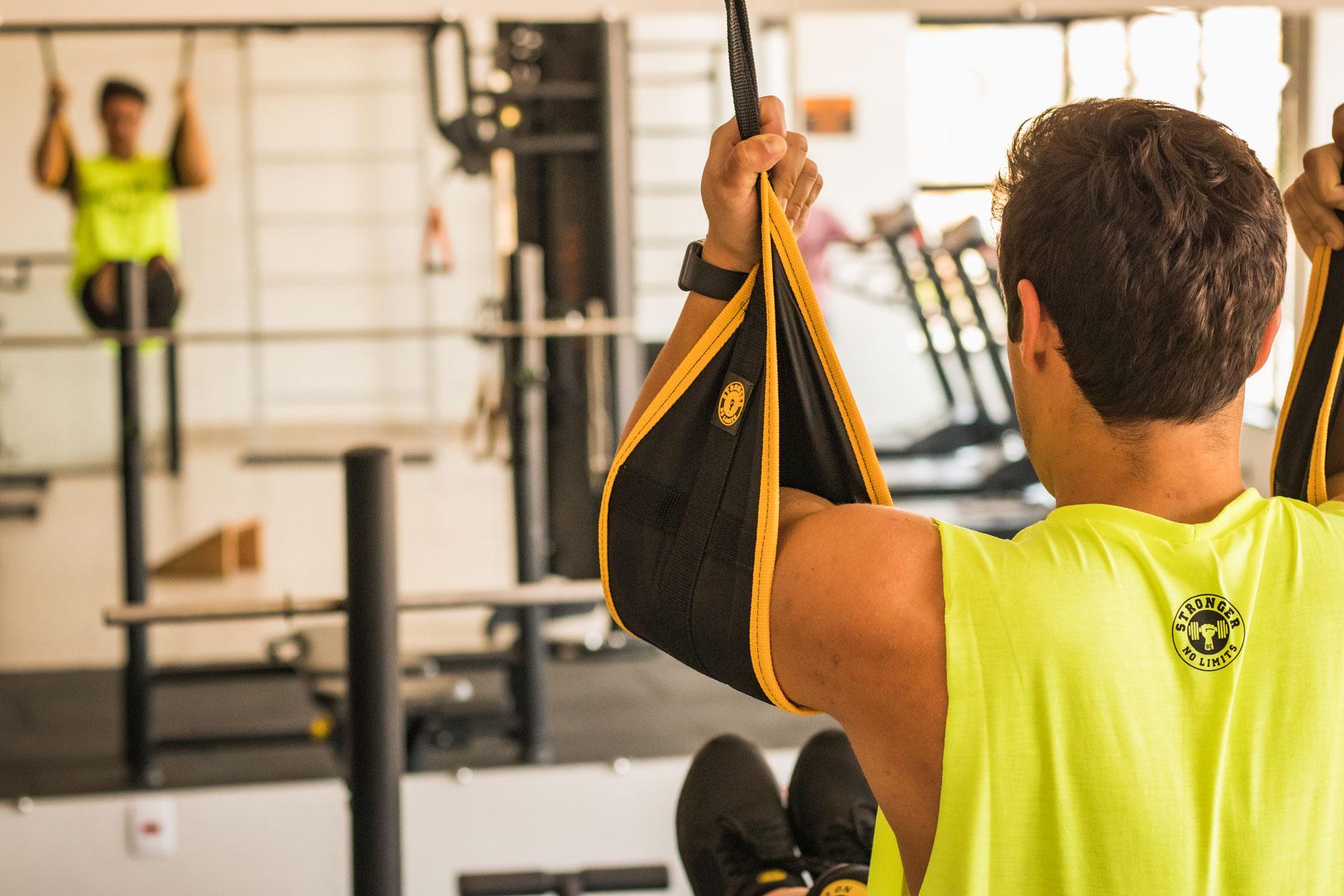 Tipóia P/ Exercício Abdominal  - Suspensão - Funcional - Trx