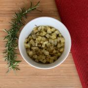 Batata doce assada com alecrim