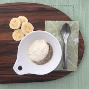 Doce de banana com iogurte