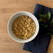Quinoa refogada (i)