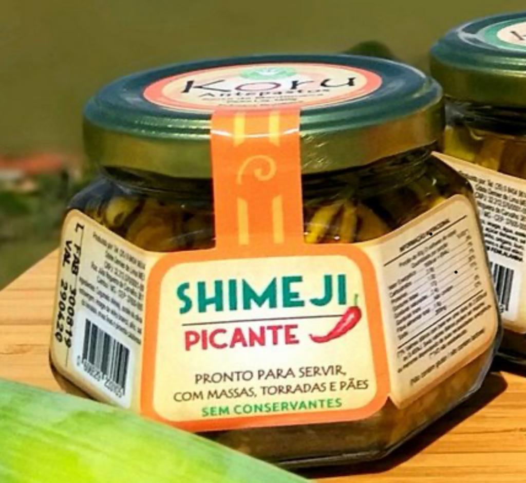 Antepasto de shimeji picante