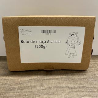 Bolo de maçã da Acássia (200g)