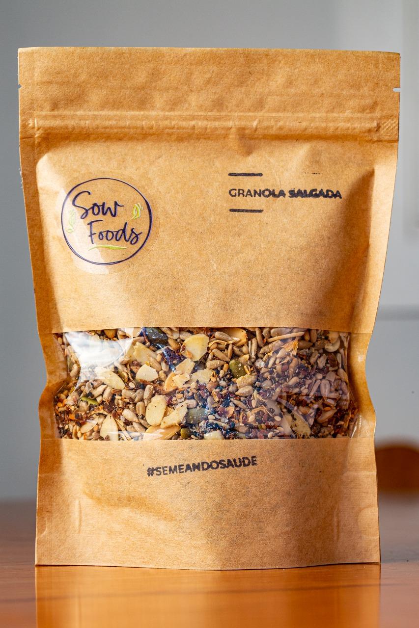 Granola Artesanal Salgada (300g)