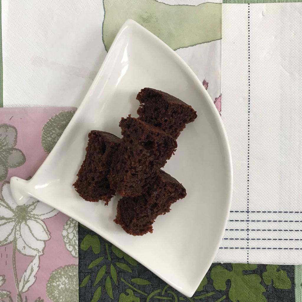 Mini bolo de chocolate da Anelis (50g)