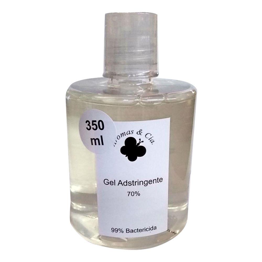 Álcool gel 70% para mãos - 350 ml - 99% bactericida
