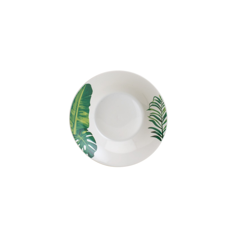 Aparelho de Jantar 20 Peças Tropical Costela de Adão