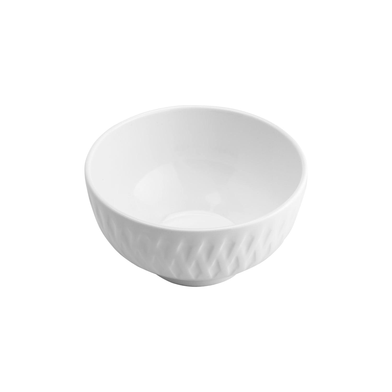 Bowl Tigela Cumbuca de Porcelana Balloon Branco 12 x 6,5 cm