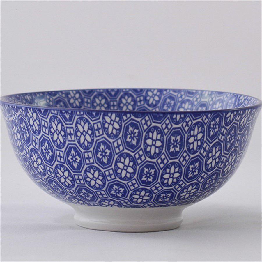 Bowl Tigela Cumbuca Cereais Molhos Barcelona Azul 300ml 1 Unidade