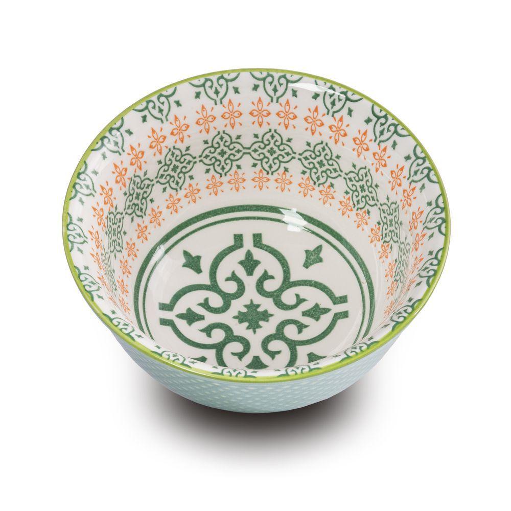 Bowl Tigela Cumbuca Cereais Molhos Veneza 12,5 X 6 Cm