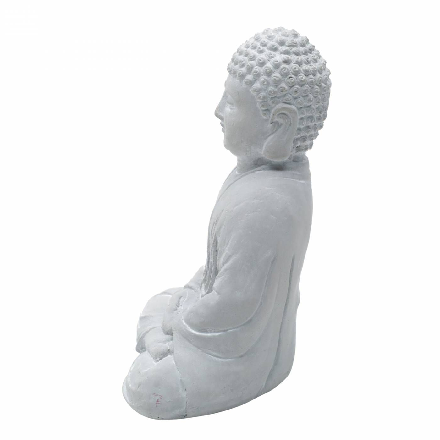 Buda Hindu Namastê Tibetano Sidarta Cimento Queimado