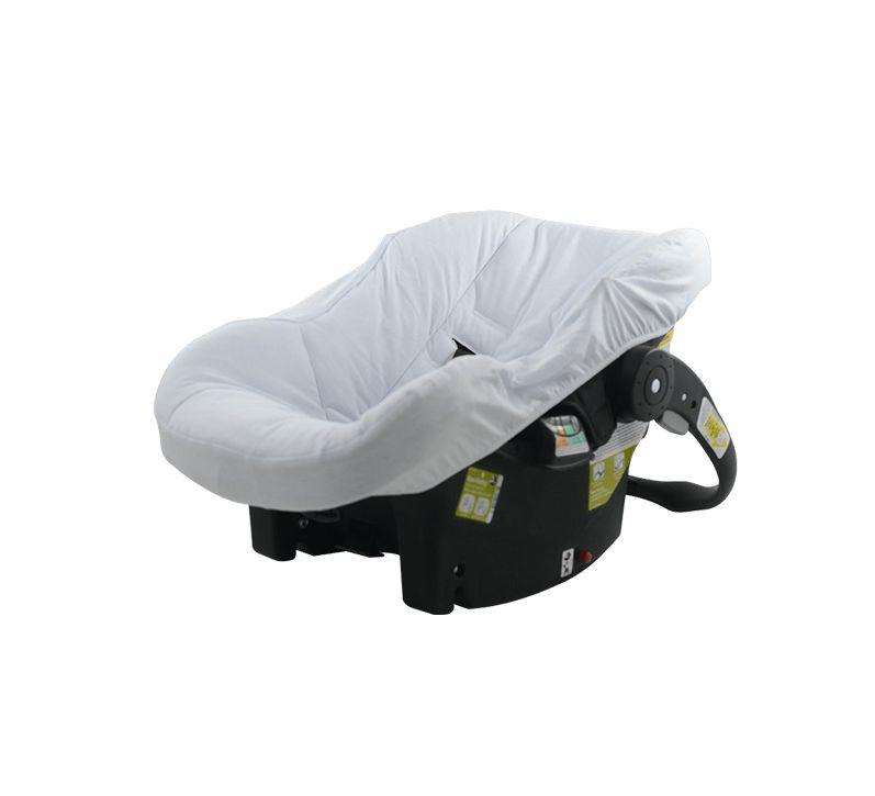 Capa Bebê Conforto Branca