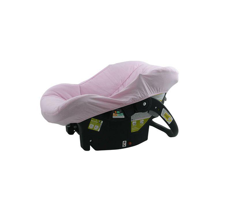 Capa Bebê Conforto Rosa