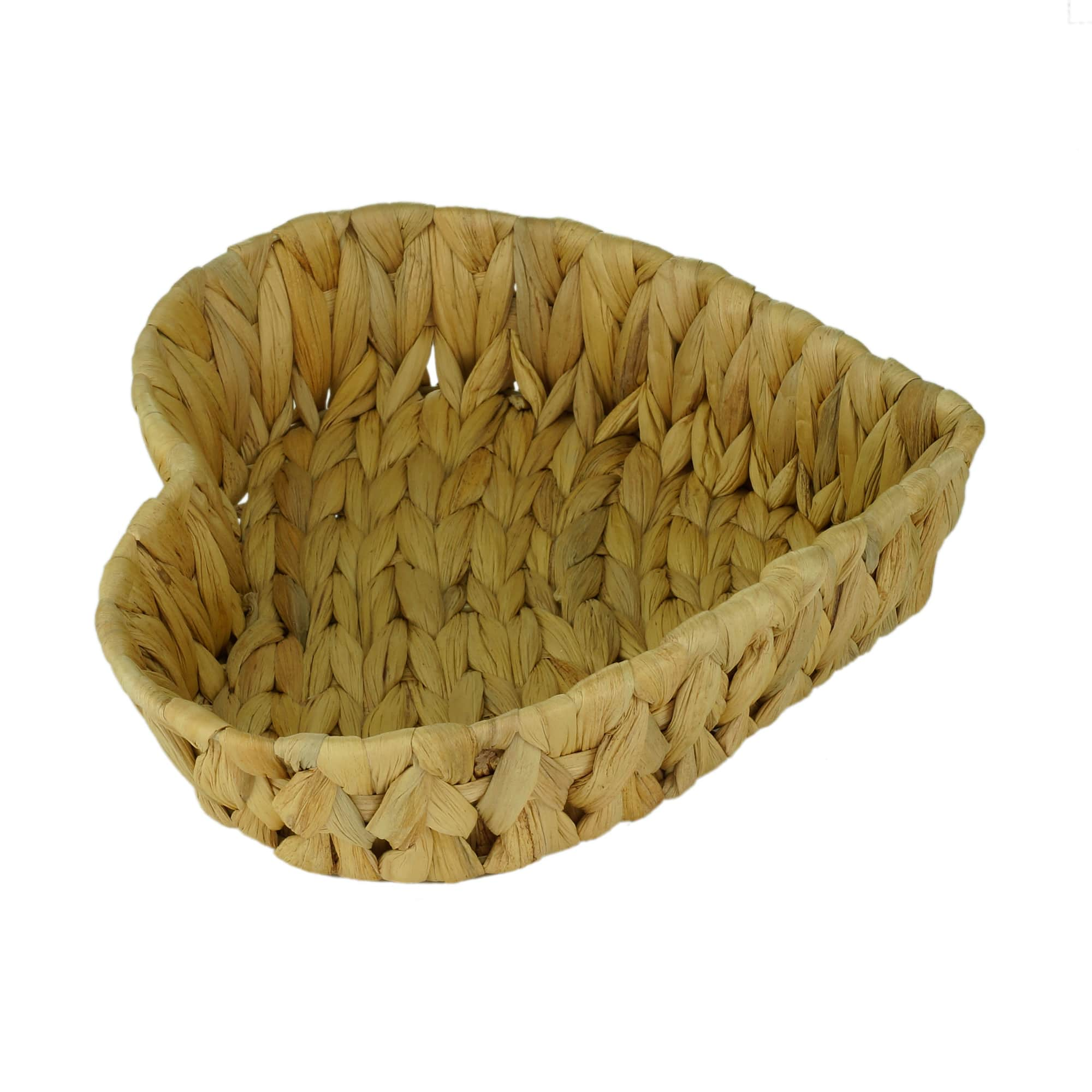 CESTA VIME HEART BASKET NATURAL 24x23x6,5cm