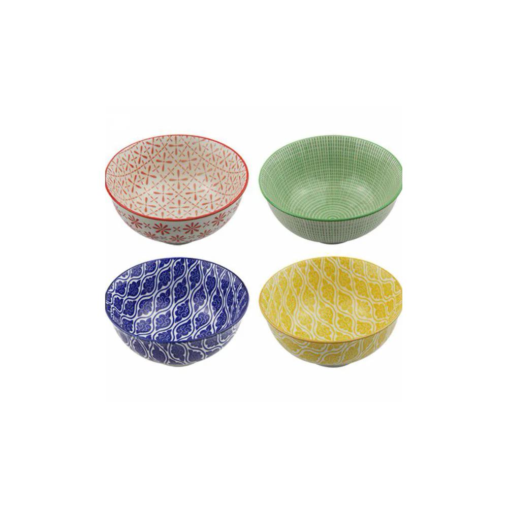 Conjunto 4 Bowl Tigela Cumbuca Cereais Molhos Cairo, Dubai, Sydney E Viena