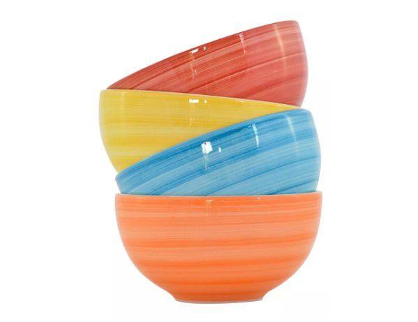 Conjunto 4 Bowls Coloridos