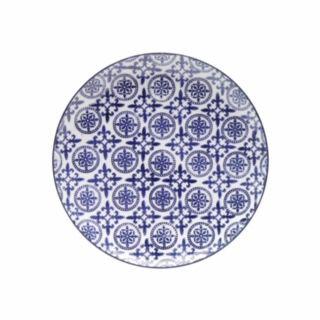 Conjunto 4 Pratos Grandes Coloridos Royal 26 cm