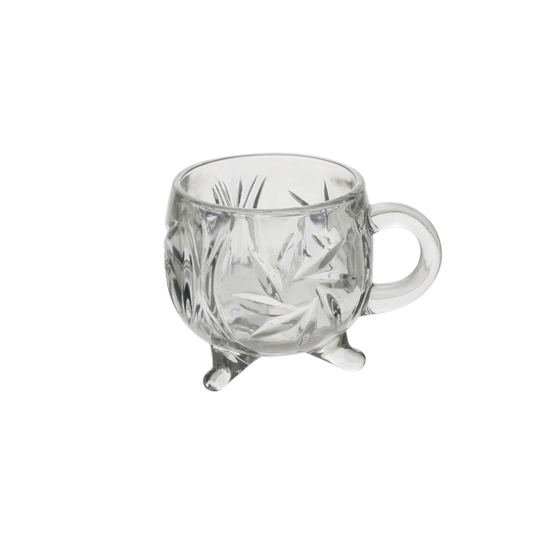 Conjunto 4 xícaras de Cristal Prima 135 ml