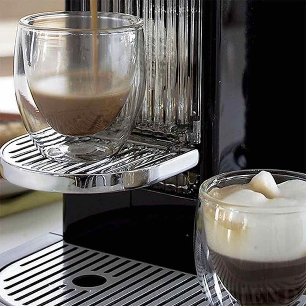 Conjunto 6 Copos para Café Parede dupla de Vidro 70ml
