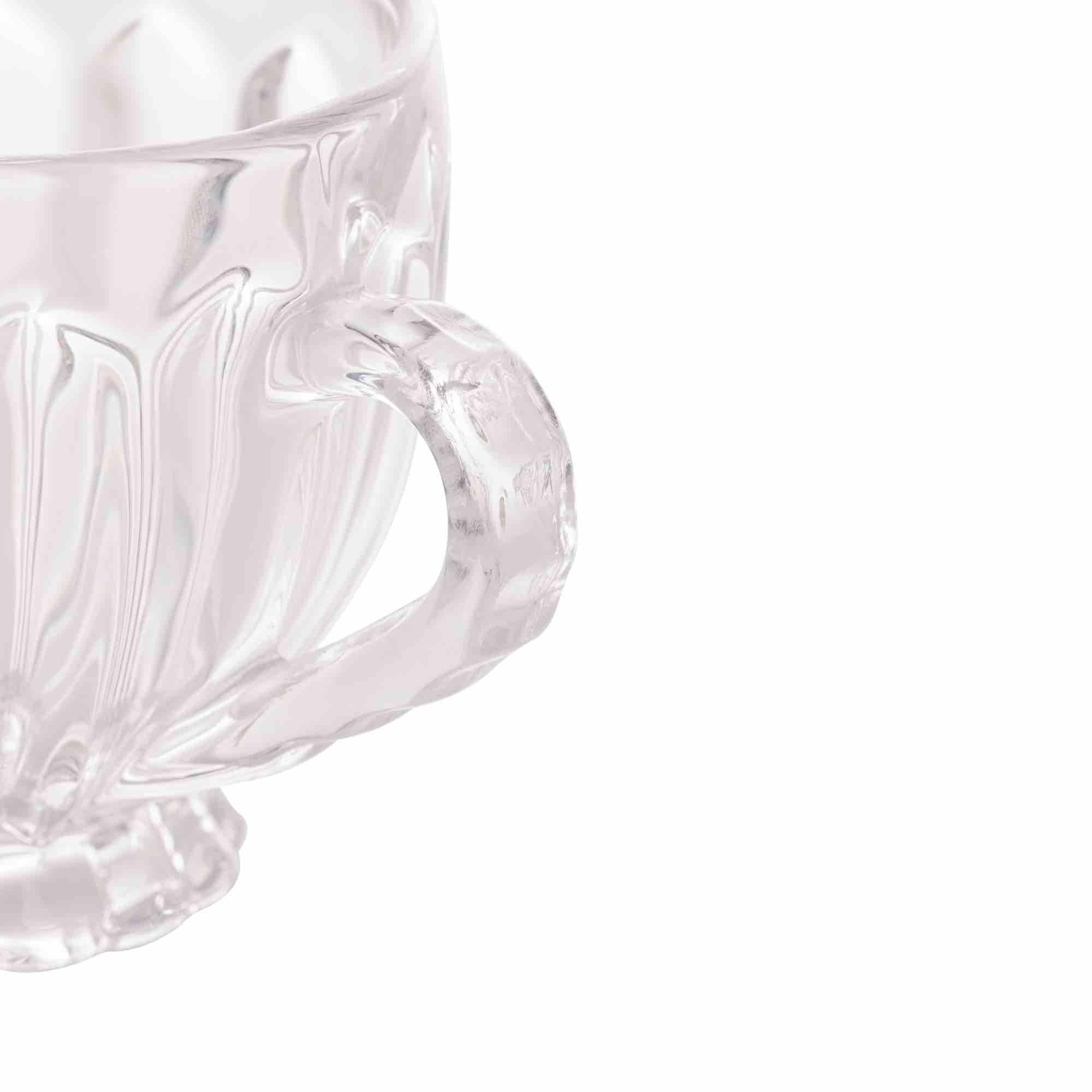 Conjunto 6 xícaras de Cristal 200ml