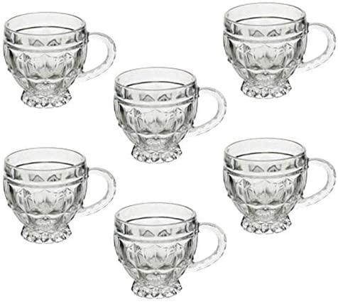 Conjunto 6 xícaras de Cristal Renaissance 200ml