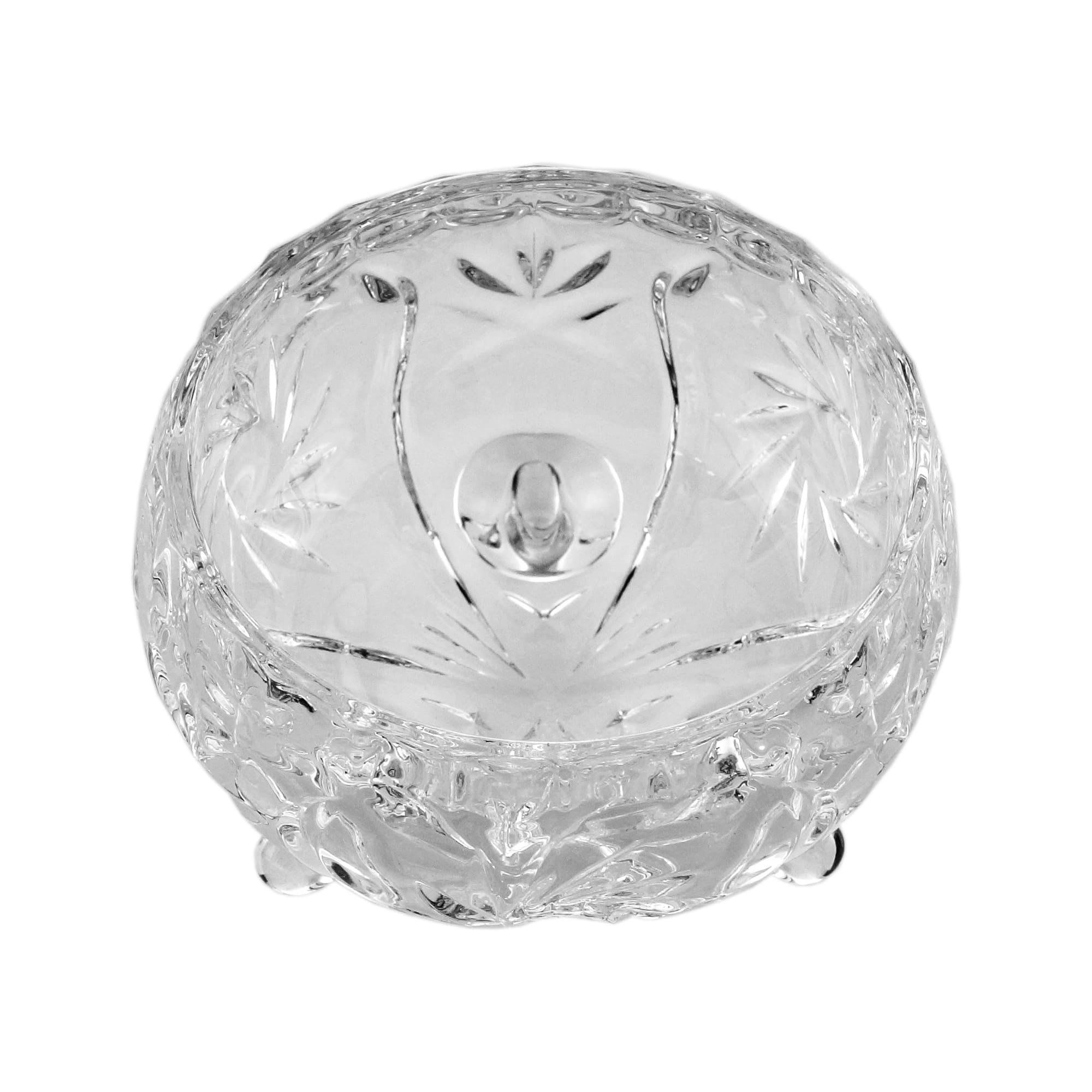 Conjunto com 4 Bowls de Cristal de Chumbo Prima 8 x 5,5cm