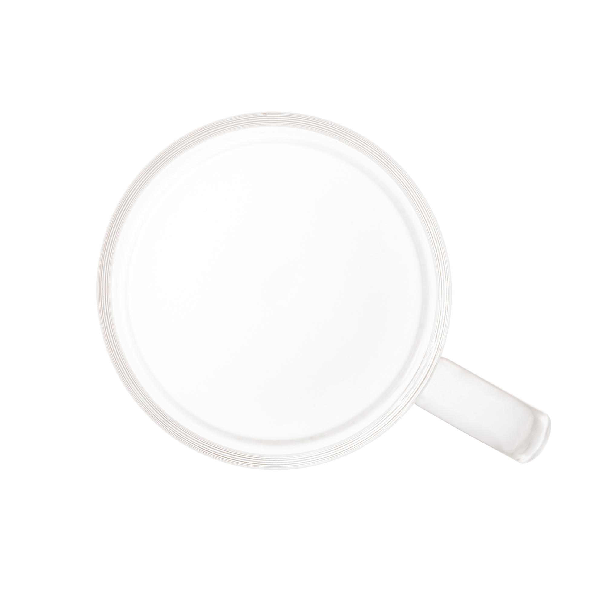 Conjunto de 6 canecas de Vidro Borossilicato resistente a calor 125 ml