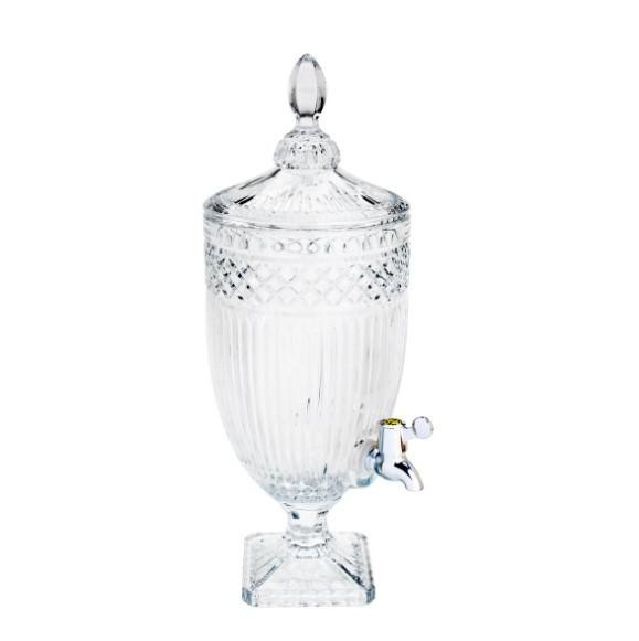 Conjunto 2 suqueiras decorativas em cristal persa