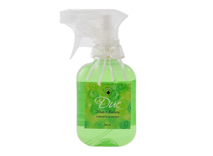 Eliminador de Odores Limão e Cidreira 240 ml