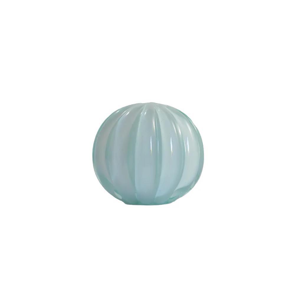 Esfera Murano Branca -  8 x 8 cm