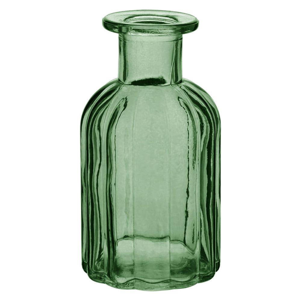 Garrafa de Vidro Verde - 10,5 cm