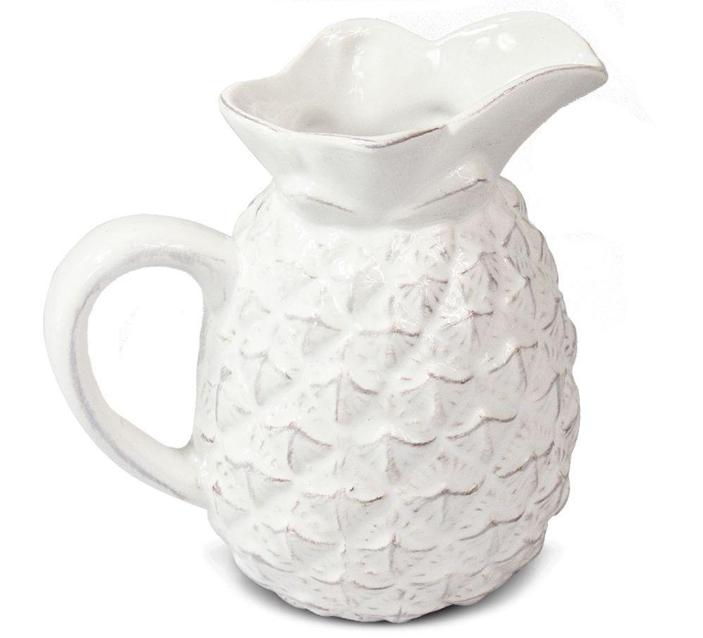Mini Jarra De Abacaxi em Cerâmica para Decoração Moderna